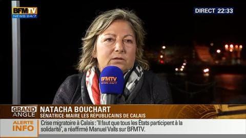 """Edition spéciale Calais: """"La visite de Manuel Valls est une reconnaissance de la souffrance des Calaisiens"""", Natacha Bouchart"""