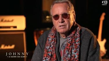"""Yves Rénier dans le documentaire """"Héritage de Johnny: la guerre des clans"""""""