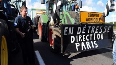 Manifestation des agriculteurs