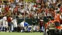 Le footballeur espagnol Antonio Puerta, victime d'un arrêt cardiaque sur le terrain en 2007