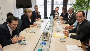 François Hollande, lors de se participation au sommet européen, ce mardi.
