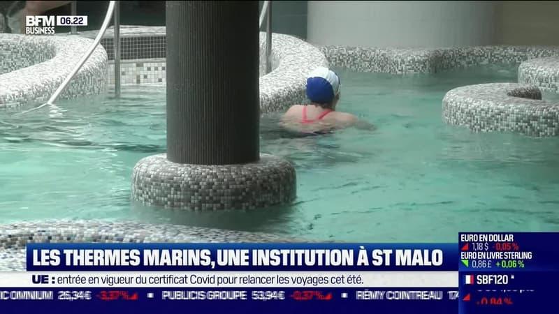 La France qui résiste : Les Thermes marins, une institution à St Malo, par Justine Vassogne - 01/07
