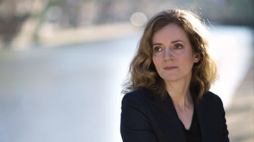 La candidate UMP à la mairie de Paris près du canal Saint-Martin le 16 décembre 2013