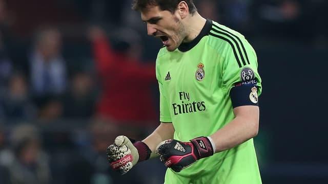 Iker Casillas, le gardien du Real Madrid