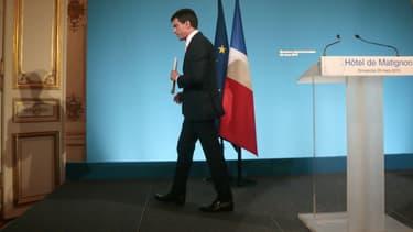 Manuel Valls, le 29 mars 2015.