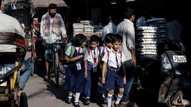 L'Inde doit notamment améliorer la scolarité de ses enfants