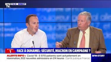 Face à Duhamel: Sécurité, Macron en campagne ? - 19/04