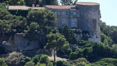 Le fort de Brégançon, dans le Var, qui sert de résidence secondaire présidentiell e.