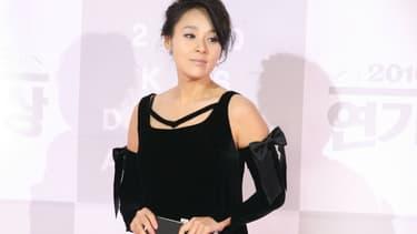 L'actrice sud-coréenne Jeon Mi-seon en 2010