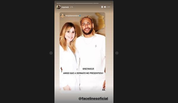 La nouvelle coiffure de Neymar