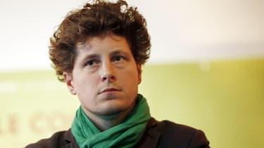 Porte-parole d'EELV, Julien Bayou est le favori pour l'élection à la tête du parti
