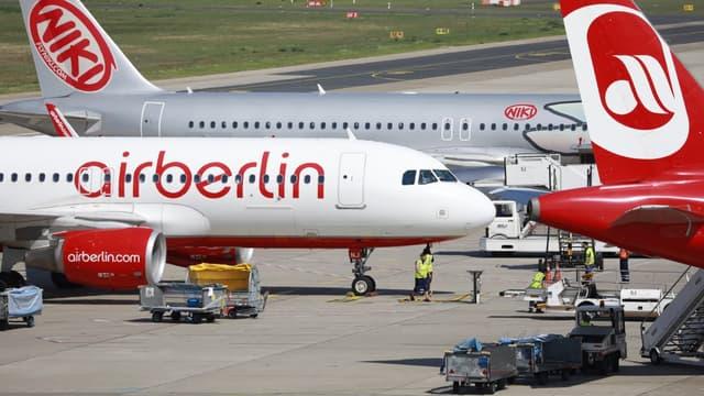 Air Berlin est en contact avec trois prétendants pour la reprise de certaines de ses activités.