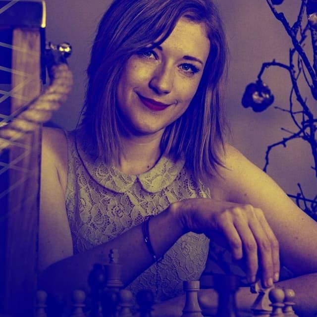 La Hongrois Anna Rudolf, l'une des streameuses stars du monde des échecs