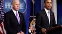 Barack Obama a chargé mercredi le vice-président américain Joe Biden de mener une réflexion nationale sur les violences liées aux armes à feu et attend ses recommandations d'ici un mois. /Photo prise le 19 décembre 2012/REUTERS/Yuri Gripas