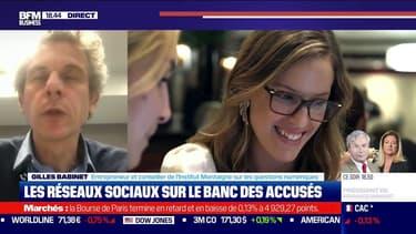 """Gilles Babinet: la lutte contre l'enfermement social induit par Facebook """"peut aboutir à fermer ce type de plateforme"""""""