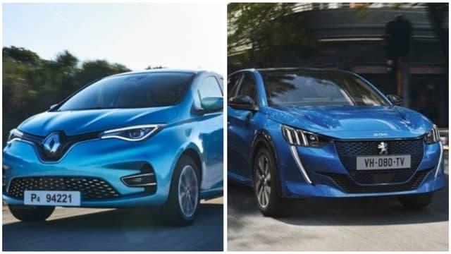 La voiture avec 12.000 euros d'aide sera forcément neuve et électrique.