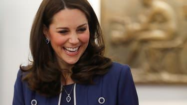 Kate Middleton à Londres le 27 février 2018