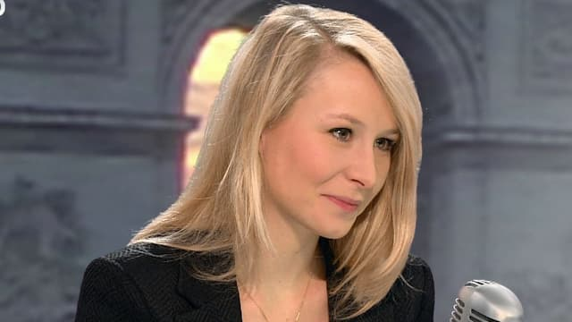 Marion Maréchal-Le Pen, mardi matin sur BFMTV et sur RMC.