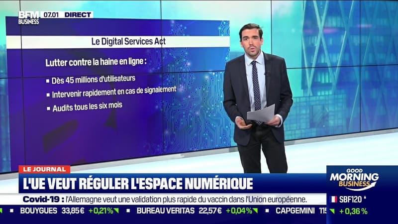L'Union Européenne veut réguler l'espace numérique