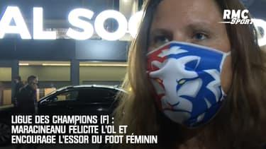 Ligue des champions (F) : Maracineanu félicite l'OL et encourage l'essor du foot féminin