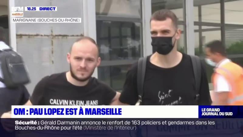 OM: Pau Lopez est arrivé à Marseille pour sa visite médicale