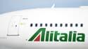 Un avion de la compagnie aérienne italienne Alitalia. (image d'illustration)