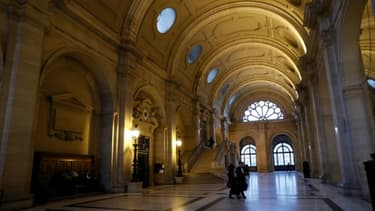 Des avocats au Palais de Justice, le 13 décembre 2016 à Paris