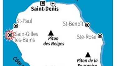 La victime surfait, seul, à une cinquantaine de mètres de la plage des Brisants de Saint-Gilles, à l'ouest de l'île.