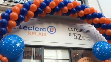 Leclerc inaugure son premier point de retrait à Paris
