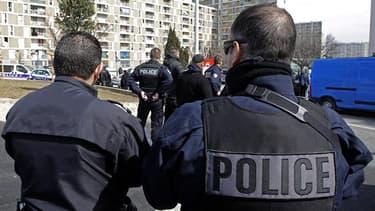 La police a fait fuir les agresseurs et la victime