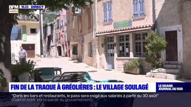 Fin de la traque à Gréolières: le soulagement des habitants du village