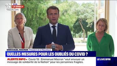 Emmanuel Macron annonce une enveloppe de 160 millions d'euros pour des primes Covid aux professionnels de l'aide à domicile