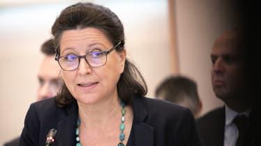 La ministre de la Santé agnès Buzyn en déplacement à Rouen, le 11 octobre 2019