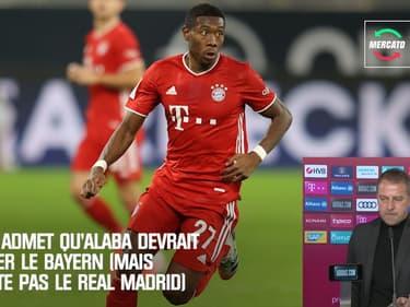 Mercato : Flick admet qu'Alaba devrait quitter le Bayern (mais ne cite pas le Real Madrid)