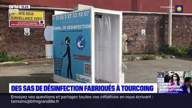 Des sas de désinfection fabriqués à Tourcoing