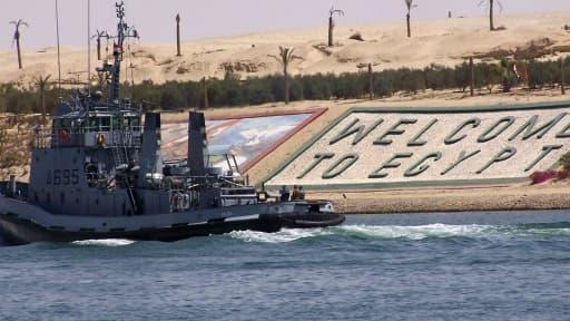 Le canal de Suez va pouvoir être désengorgé.