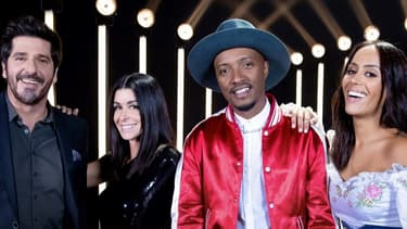 """Patrick Fiori, Jenifer, Soprano et Amel Bent, les coachs de """"The Voice Kids"""" saison 6"""