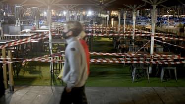 Terrasses de bar condamnées le 27 septembre 2020 à Marseille