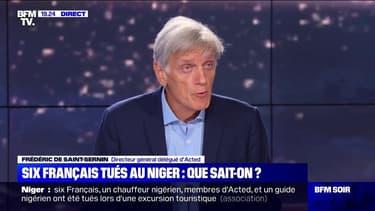 """Frédéric de Saint-Sernin (Acted): """"Nous avons besoin du soutien de la communauté internationale pour être protégés"""""""