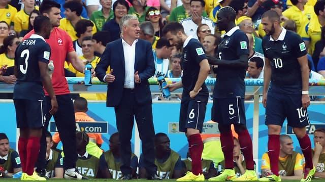 Didier Deschamps et les Bleus