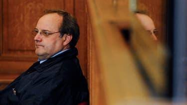 Le docteur Jean-Louis Muller, lundi, au premier jour de son procès devant les assises de Nancy.