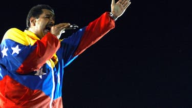 Le vainqueur de l'élection présidentielle, Nicolas Maduro.