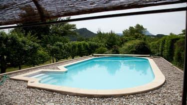 Une piscine privée (photo d'illustration)