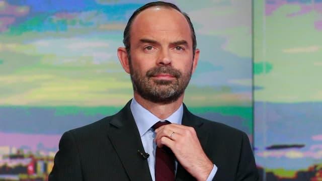 Edouard Philippe mercredi soir sur le plateau de TF1.