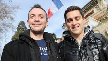 Vincent et Bruno devraient être les premiers à bénéficier de la loi sur le mariage homo.