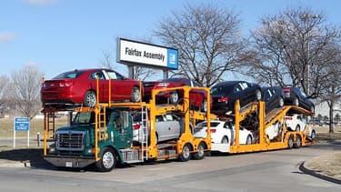 Les 300 000 véhicules endommagés par l'ouragan Sandy dopent les ventes de voitures.