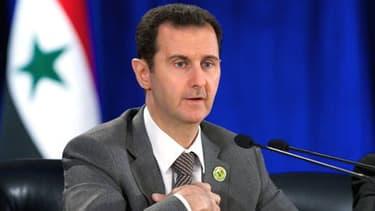 Bachar al-Assad, le 8 mars 2014.