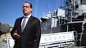 François Hollande, lors d'une visite d'Etat à Malte.