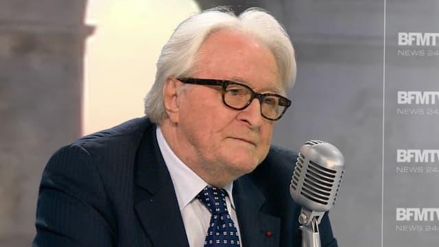 Roland Dumas, ancien président du Conseil constitutionnel, sur BFMTV et RMC