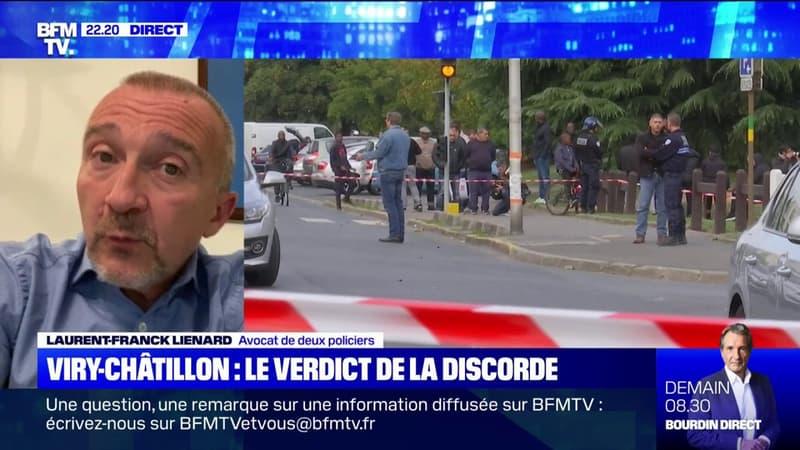 Procès de Viry-Châtillon: pour l'avocat de deux policiers le verdict «est insupportable»
